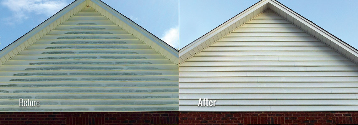 Fox Valley WI Soft Wash Home Siding Pressure Washing